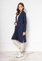 Sweater coat with pockets SWE139 navy