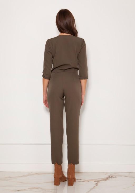 Elegant jumpsuit, KB108 shiny fabric