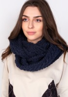 Stylish tube scarf - SZ004 navy