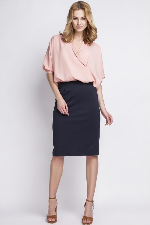 Skirt high-waisted, SP111 navy