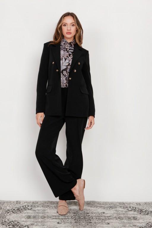 A classic jacket, ZA121 black