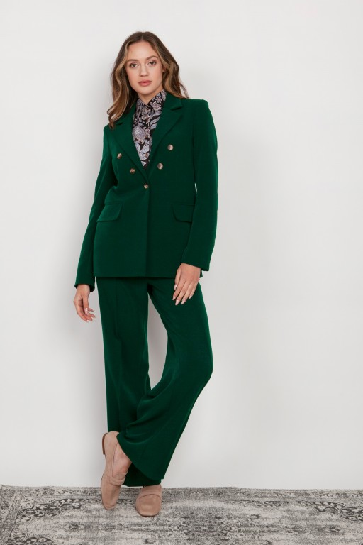 A classic jacket, ZA121 green