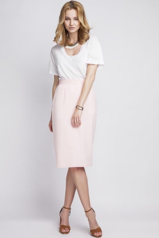 Skirt high-waisted, SP111 pink