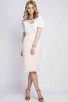 Skirt high-waisted, SP111 pink