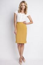 Classic skirt, SP112 mustard
