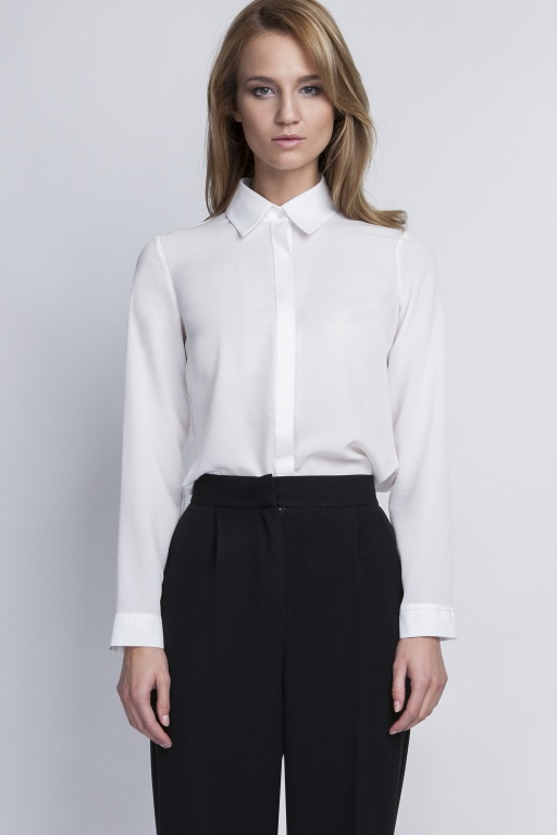 Elegant shirt, K101 ecru