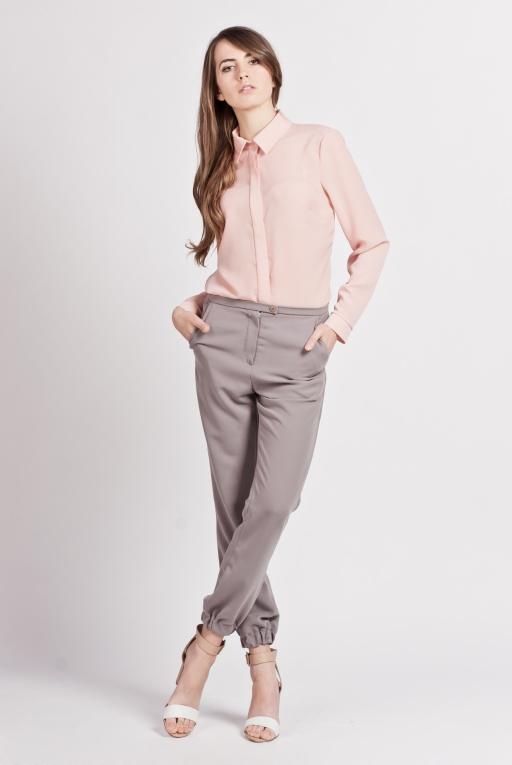 Elegancka koszula, K101 róż