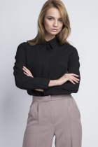 Elegancka koszula, K101czarny