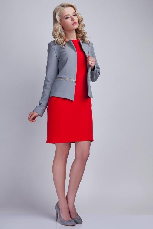 Short jacket, ZA107 grey