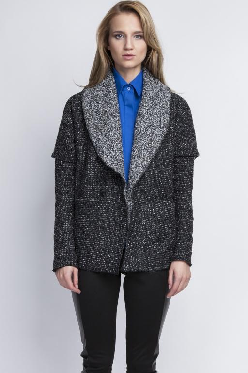 Oversize jacket, ZA109 graphite