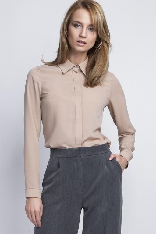 Elegant shirt, K101 beż