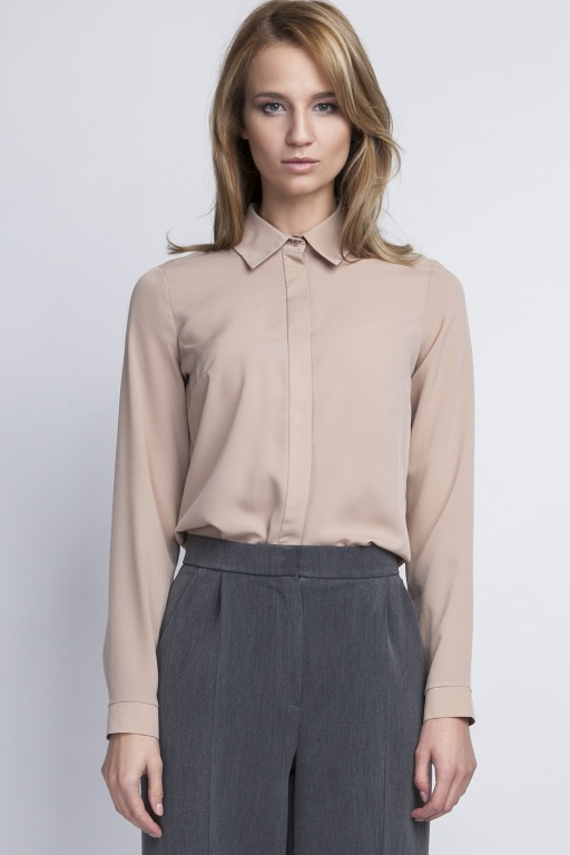 Elegant shirt, K101 beige