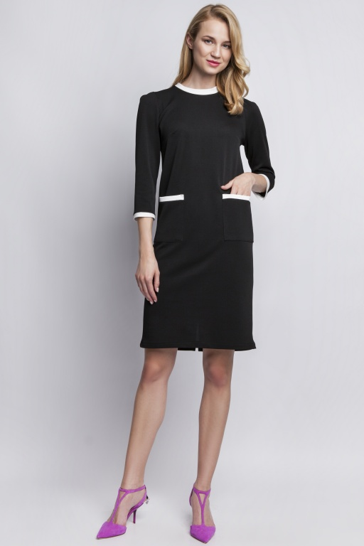 Dress with pockets, SUK103 black