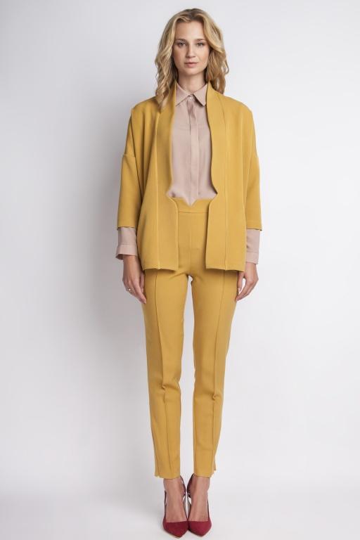 Casualowy jacket, ZA114 mustard