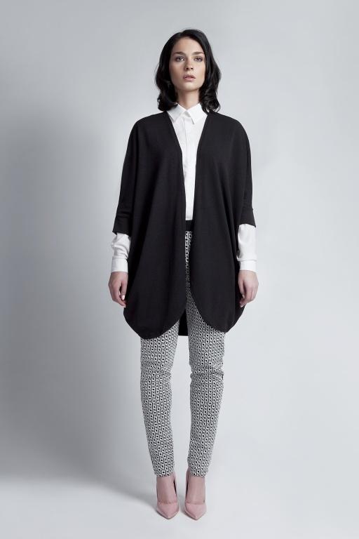 Sweter - nietoperz, SWE107 czarny