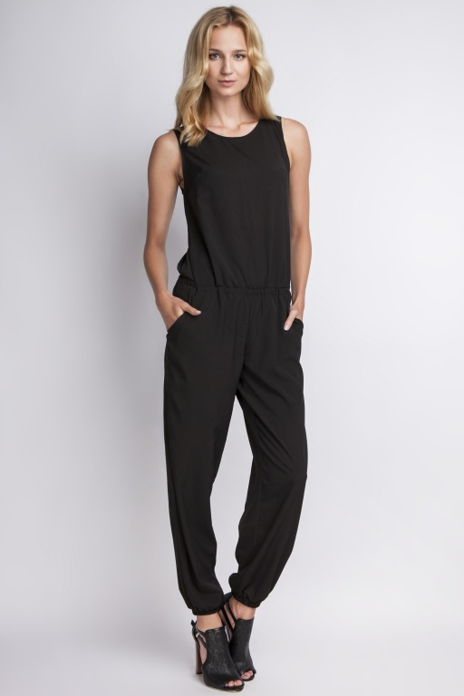 Airy jumpsuit, KB101 black