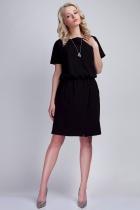Sukienka z kieszeniami, SUK117 czarny
