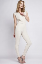 Jumpsuit sleeveless,  KB109 beige