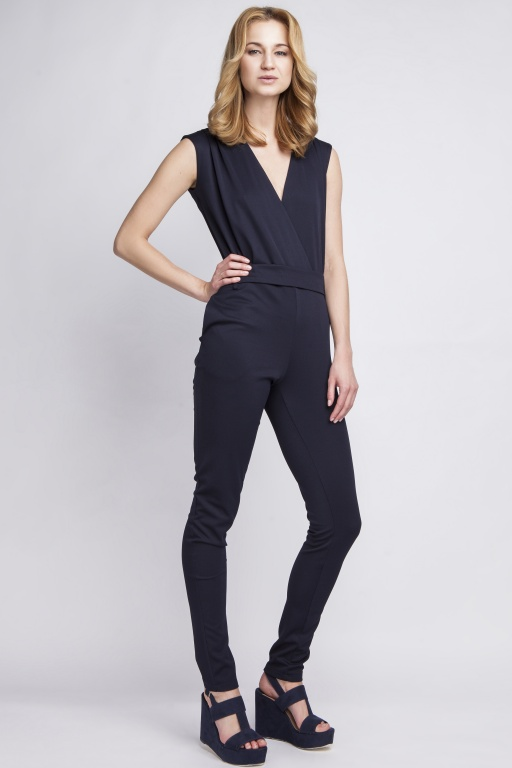 Jumpsuit sleeveless,  KB109 navy