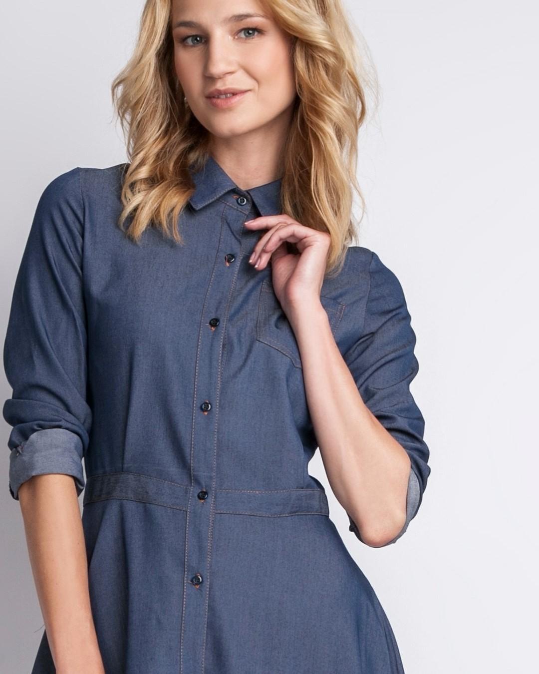 Wygoda dżinsowej koszuli + kobiecość i klasa. Chyba mamy sukienkę idealną.  #sukienkanacodzien #sukienkazdzinsu #jeansowasukienka #jeansdress #sukienki #instasummer #bestdress