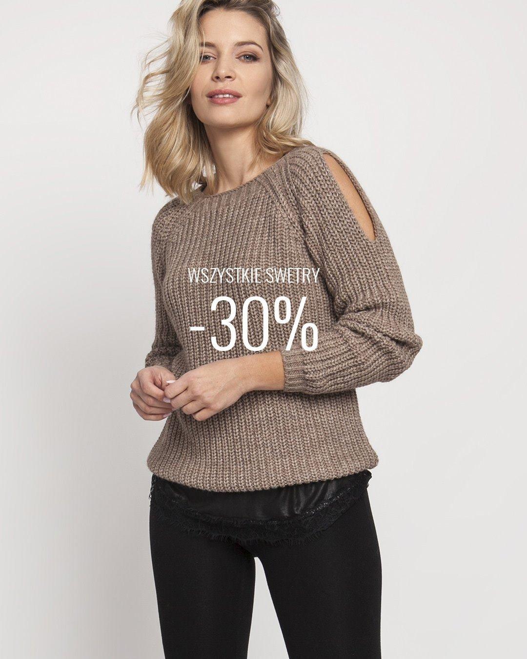 Połowa lipca to dobry moment na posezonową wyprzedaż. Tylko do końca miesiąca wszystkie swetry w naszym sklepie kupicie aż 30% taniej.   #swetry #sweter #promocja #promo #wyprzedaż #wyprzedaz #obnizka #sale #seasonsale #obnizkacen